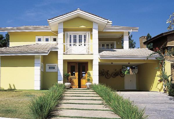 542933 Escolha da cor da fachada da casa 03 Cor da fachada da casa, como escolher