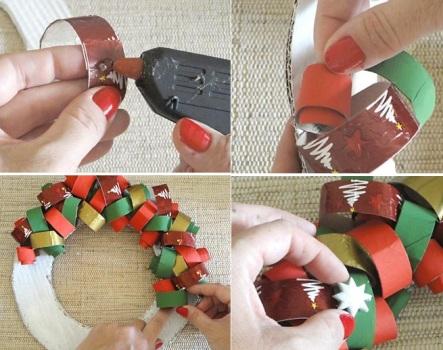 543486 Enfeites de natal de papel como fazer 2 Enfeites de Natal de papel: como fazer