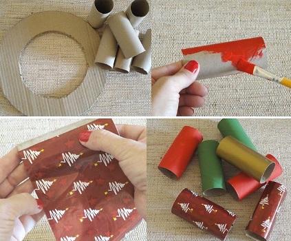 543486 Enfeites de natal de papel como fazer Enfeites de Natal de papel: como fazer