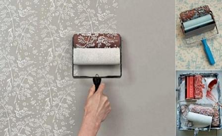 546226 O rolo texturizado é uma excelente forma de decorar a parede da casa. Foto divulgação Rolo texturizado para a parede: saiba mais