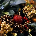 546490 É possível utilizar as maçãs com diversos outros enfeites para enfeitar a casa no Natal. Foto divulgação 150x150 Decoração de Natal com frutas: ideias, fotos