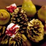 546490 As peras podem ser utilizadas para enfeitar as mesas natalinas. Foto divulgação 150x150 Decoração de Natal com frutas: ideias, fotos