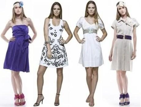 548080 Os vestidos prometem fazer muito sucesso no verão. Foto divulgação Roupas elegantes para o verão