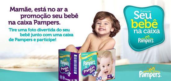 """548209 concurso seu bebe na caixa pampers 3 Concurso """"Seu bebê na caixa"""" Pampers"""