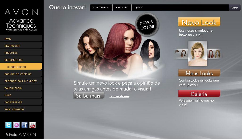 552363 Seml título Sites com Simulação virtual de corte de cabelo