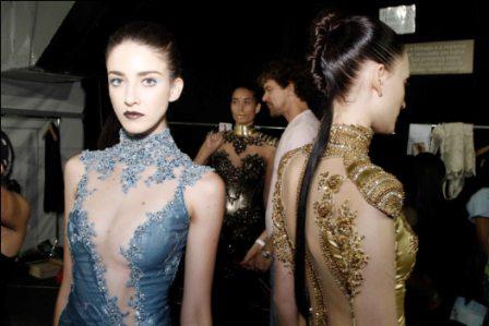 553574 Vários modelos de vestidos foram apresentados no SPFW. Foto divulgação Vestidos de festa inverno 2013: fotos