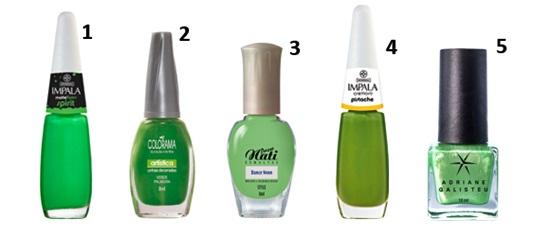 555311 esmaltes verdes dicas marcas 2 Esmaltes verdes: dicas, marcas