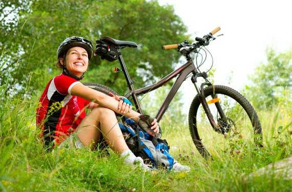 555345 Esse meio de transporte ainda é amigo da natureza. Foto divulgação Andar de bicicleta: benefícios