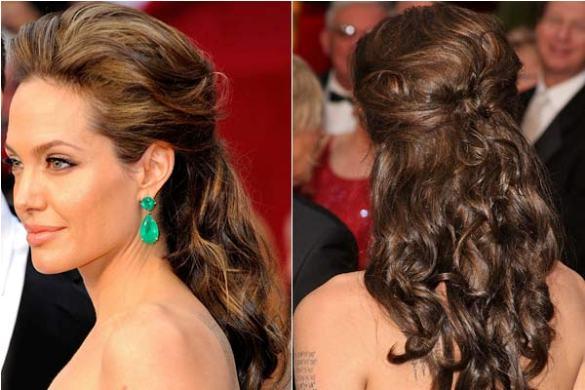 555957 Penteado para madrinha de cabelo médio. Foto divulgação Penteados para madrinha de casamento: fotos