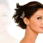 555957 Vários penteados podem ser feitos em cabelos curtos. Foto divulgação 150x150 Penteados para madrinha de casamento: fotos