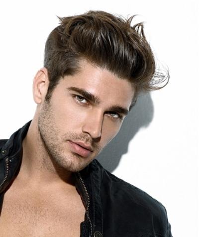556563 Vários modelos de penteados masculinos podem ser usados. Foto divulgação  Penteados masculinos que estão na moda