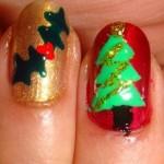 556935 É possível variar o desenho em cada unha. 150x150 Unhas decoradas com motivos natalinos: fotos