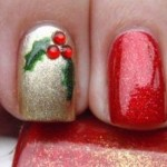 556935 A técnica da unha filha única pode ser adaptada para o natal. 150x150 Unhas decoradas com motivos natalinos: fotos