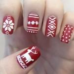556935 Desenhos fáceis de fazer. 150x150 Unhas decoradas com motivos natalinos: fotos