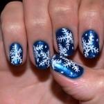 556935 Esmaltes metalizados são muito belos. 150x150 Unhas decoradas com motivos natalinos: fotos