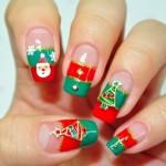 556935 Motivos variados em unhas para o natal. 150x150 Unhas decoradas com motivos natalinos: fotos