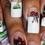 556935 Os símbolos natalinos são inúmeros. 150x150 Unhas decoradas com motivos natalinos: fotos