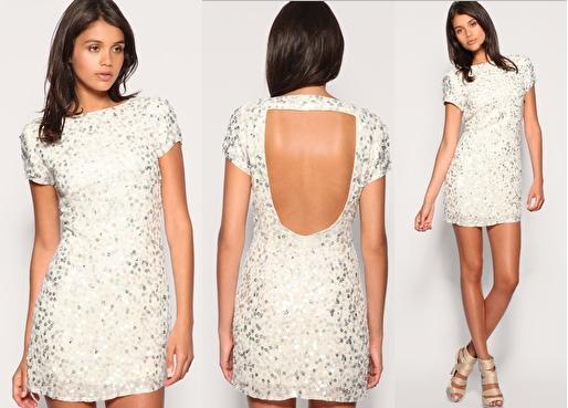 558192 Na hora de comprar o vestido branoc opte pelo curto e largo. Foto divulgação Vestido curto branco: dicas, fotos