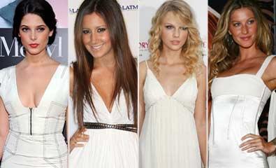 558192 O vestido branco é a nova tendência do verão 2012. Foto divulgação Vestido curto branco: dicas, fotos