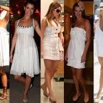 558192 O vestido branco curto pode ser usado na praia ou mesmo para ir ao trabalaho. Foto divulgação 150x150 Vestido curto branco: dicas, fotos