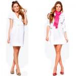558192 O vestido branco pode ser utilzado em diversas situações basta alternar os acessórios. Foto divulgação 150x150 Vestido curto branco: dicas, fotos