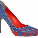 561176 Peça fabricada em cores constrastantes e detalhes vasados. 150x150 Modelos de scarpin: fotos