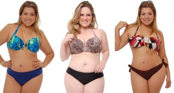 561315 É possível escolher o modelos que mais se adeque às necessidades e o tipo de corpo. Biquínis plus size 2013: fotos, tendências