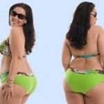 561315 Usando biquinis plus size as mulheres cheinhas se sentem mais seguras e confortáveis. 150x150 Biquínis plus size 2013: fotos, tendências