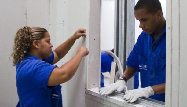 56163 Cursos do SENAI Gratuitos Na Área da Construção Pedreiro Pintor Drywall 1 Cursos do SENAI Gratuitos Na Área da Construção: Pedreiro, Pintor, Drywall