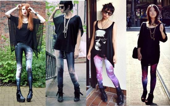 562511 legging colorida modelos como usar 2 Legging colorida: modelos, como usar