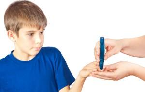 diabetes tipo 1 criança