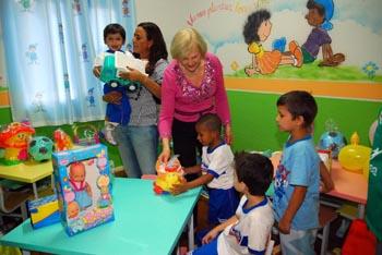 565619 Saiba como ajudar o primeiro dia da criança na creche. Foto divulgação Primeiro dia da criança na creche: como ajudar