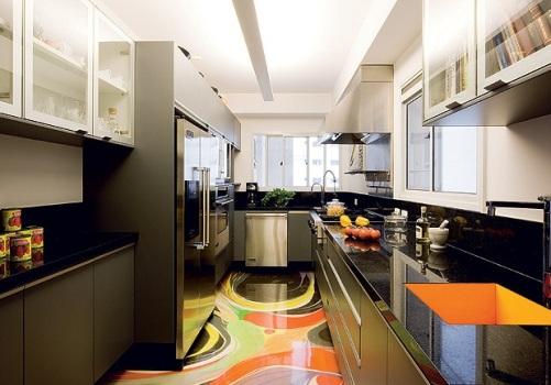 567345 Cozinha colorida dicas fotos 6 Cozinha colorida: dicas, fotos