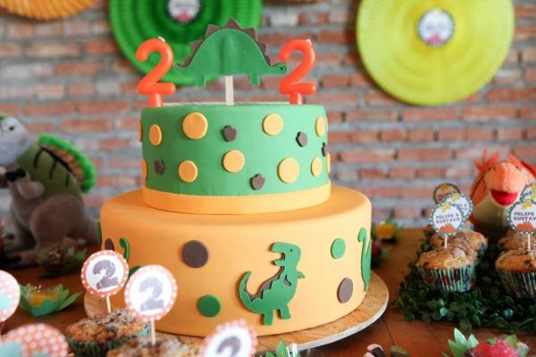 Decoração de aniversário tema dinossauro