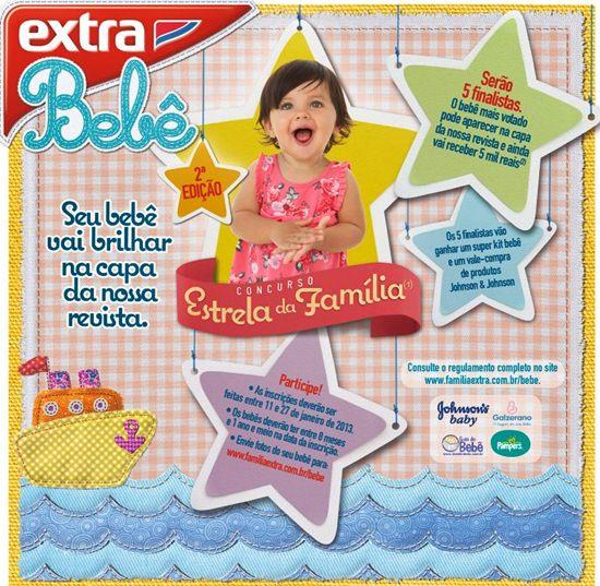 567413 concurso estrela da familia 2013 1 Concurso Estrela da Família 2013