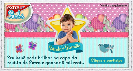 567413 concurso estrela da familia 2013 2 Concurso Estrela da Família 2013