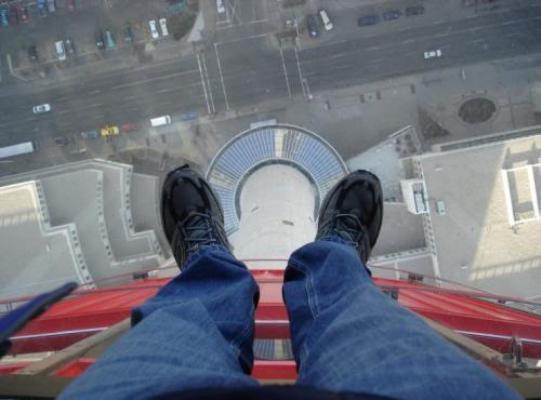 568045 O medo de altura pode causar sérios problemas. Foto divulgação Medo de altura: como superar