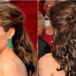 568667 Os cabelos meio presos proporcionam mais volume aos cabelos. Foto divulgação 150x150 Penteados para madrinhas que têm pouco cabelo