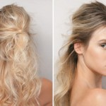 568667 Os penteados bagunçados podem dar mais volume aos cabelos. Foto divulgação 150x150 Penteados para madrinhas que têm pouco cabelo