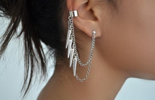 569075 Ear cuff modelos dicas para usar 3 Ear cuff: modelos, dicas para usar