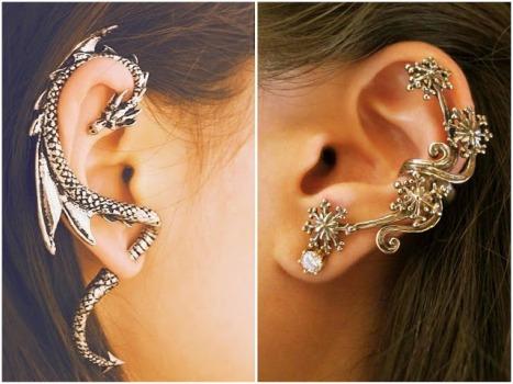 569075 Ear cuff modelos dicas para usar 9 Ear cuff: modelos, dicas para usar