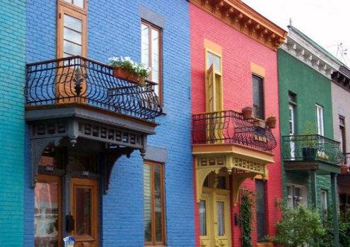 569135 Fachadas de casas coloridas 3 Fachadas de casas coloridas