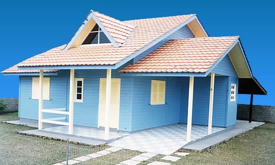 569288 Escolha o modelo que mais lhe agrada. Foto divulgação  Fachadas de casas bonitas e pequenas