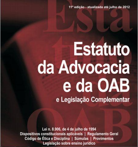 569340 estatuto da oab atualizado e comentado download 1 Estatuto da oab atualizado e comentado: download