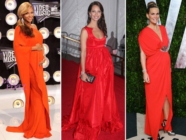 569986 Vestidos para madrinhas de casamento grávidas 01 Vestidos para madrinhas de casamento grávidas: fotos