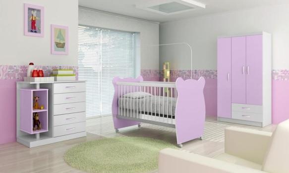570057 Decoração lilás para quartos dicas 10 Decoração lilás para quartos: dicas