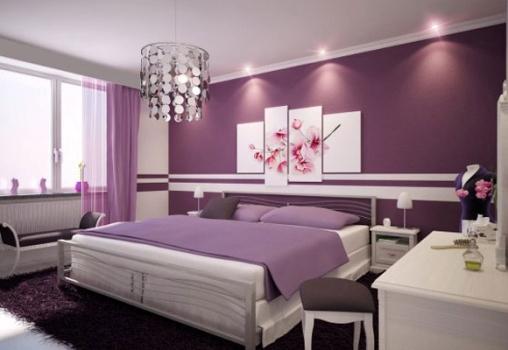 570057 Decoração lilás para quartos dicas 4 Decoração lilás para quartos: dicas