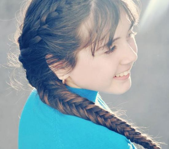 570204 As tranças são ótimas opções de escolha. Foto divulgação Penteados infantis: dicas, fotos