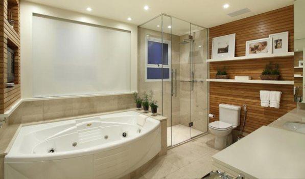 571276 Banheiro com banheira fotos 10 Banheiro com banheira: fotos