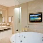 571276 Banheiro com banheira fotos 7 150x150 Banheiro com banheira: fotos